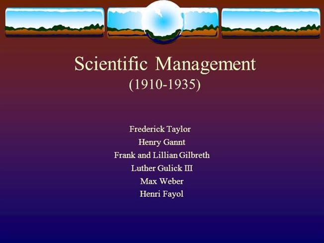 frederick taylor and management essay