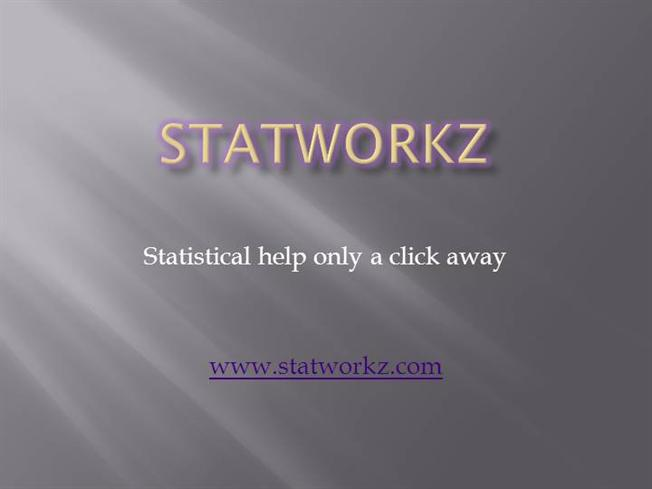 Help With Statistical Analysis   Statistics Help for Thesis, Dissertations