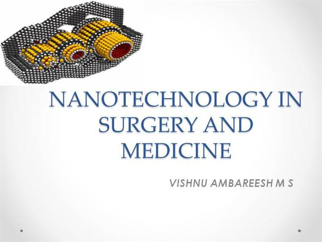 nanotechnology and medicine Over the past 40 years, giant leaps have been made in the field of nanotechnology what is nanotech, and what is the future of it read more:.