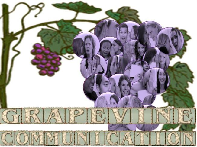 grapevine communications Although the grapevine is an inevitable part of organizational behavior, we know  very little about how managers perceive the characteristics and functioning of.