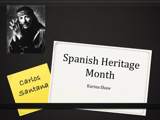 spanish heritage During national hispanic heritage month (september 15 to october 15) we recognize the contributions made and the important presence of hispanic and latino americans to the united states and celebrate their heritage and culture.