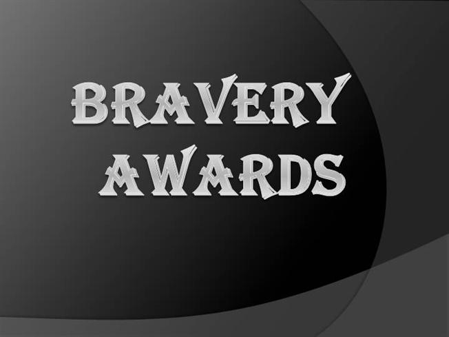 bravery awards The bravery medal (bm) is a bravery decoration awarded to australians it is awarded for acts of bravery in hazardous circumstances the bm was created in february.