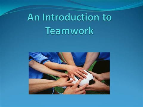 an introduction to the importance of teamwork in thermos
