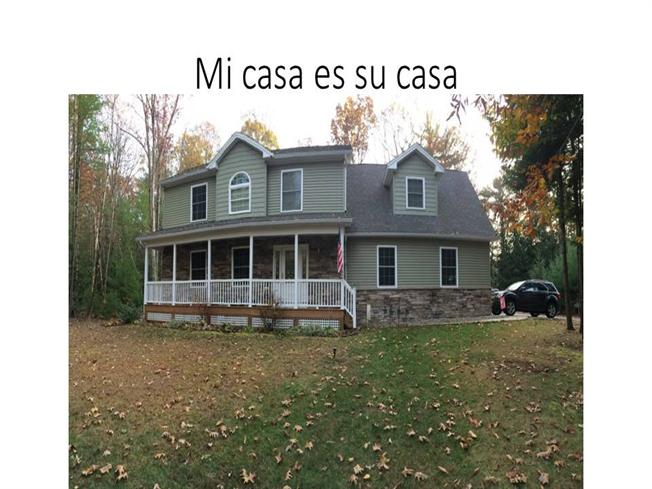 Mi casa es su casa authorstream - Mi casa es su casa ...