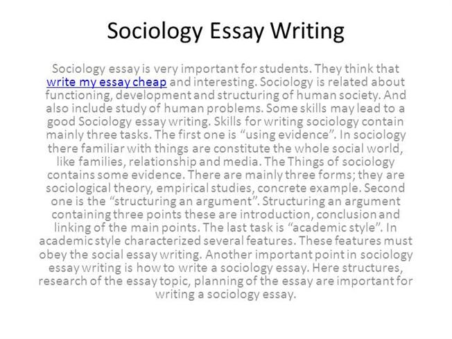 writing a good sociology essay university thesis writing english high school essay help themes