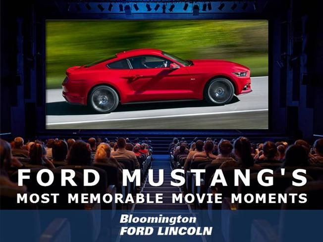 Ford Mustang Movie Appearances