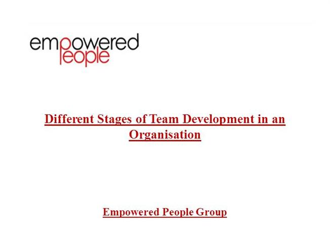 how teams of organizations develop into cohesive Teams drive organizational success, though developing and leading high-performance teams is one of the most complex tasks facing any leader in the current competitive work environment cohesiveness is the key factor in implementing effective, high-performance teams.