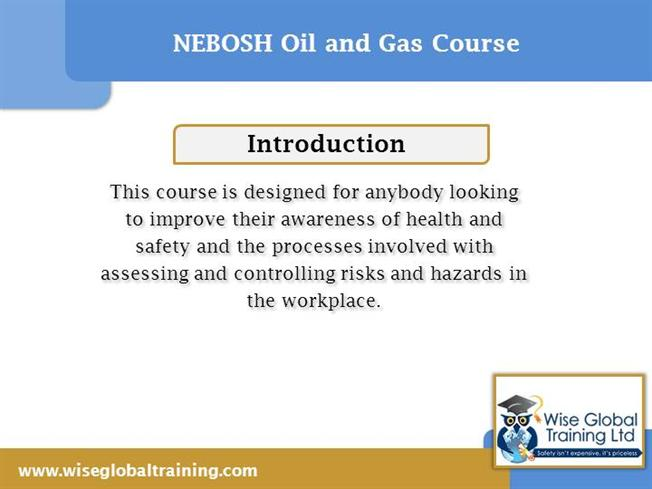 nebosh basic information The nebosh national general certificate is a qualification dsigned for those  with health and safety responsibilities the certificate is not a qualification for.