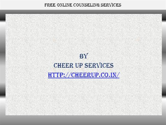 online counseling services