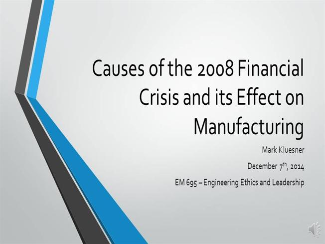 causes of the financial crisis in 2008 We've told you before that the us federal reserve puts wall street's interest above that of the american public and yesterday (wednesday) the central bank proved it again confronted.