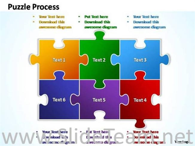 Powerpoint Jigsaw Puzzle Template Free