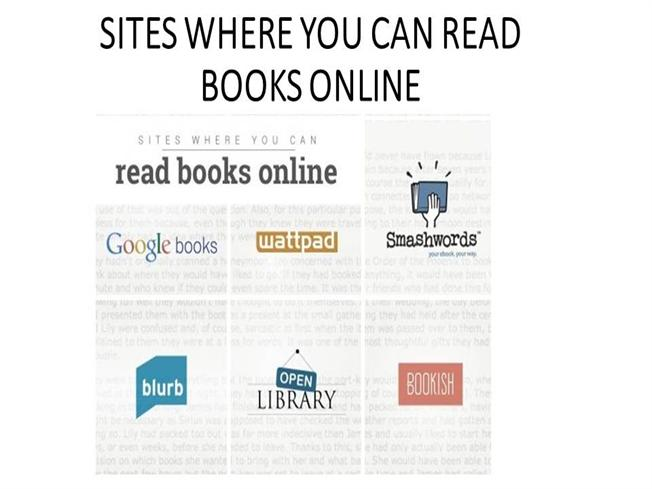 sites where you can read books online authorstream
