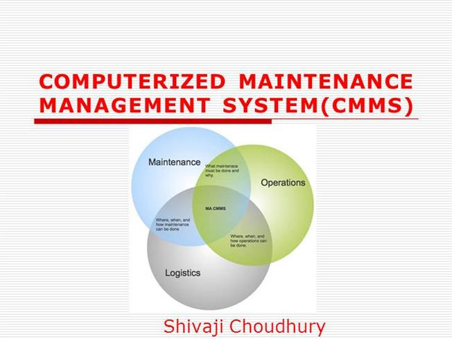 Image Result For Who Computerized Maintenance Management System