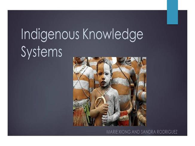 indigenous knowledge system 1 funding instrument title and description 11 name indigenous knowledge systems funding instrument (iks) 12 description of funding instrument.