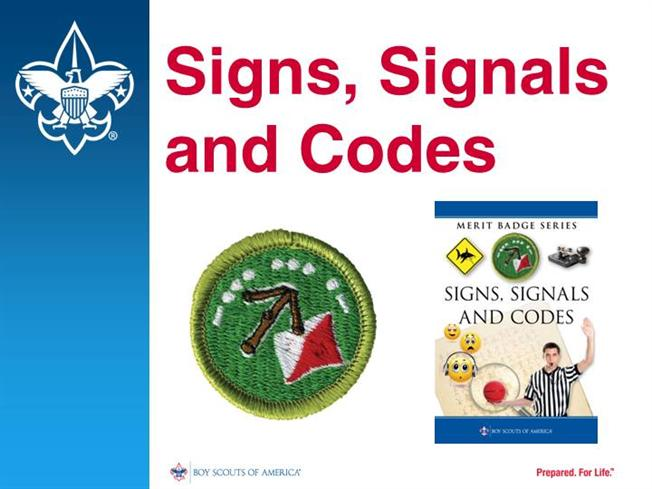 signs signals and codes merit badge authorstream. Black Bedroom Furniture Sets. Home Design Ideas