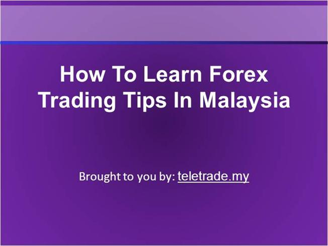 Learn forex easily