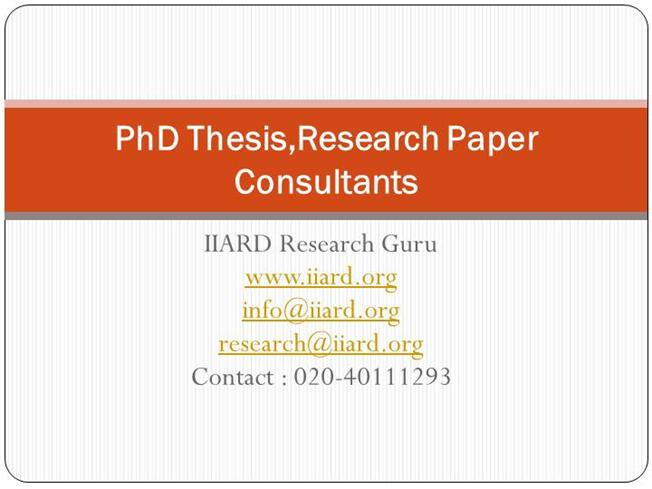 thesis consultant Capstone, thesis, and dissertation editors and writing consultants our capstone, thesis, and dissertation editors and writing consultants will provide you with the guidance, feedback, and partnership you need to graduate on time and move ahead with your life and career.