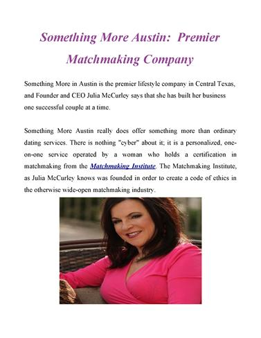 Texas matchmaking service — pic 14