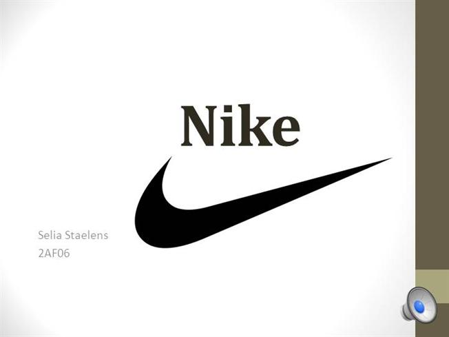 presentation nike authorstream With nike powerpoint template