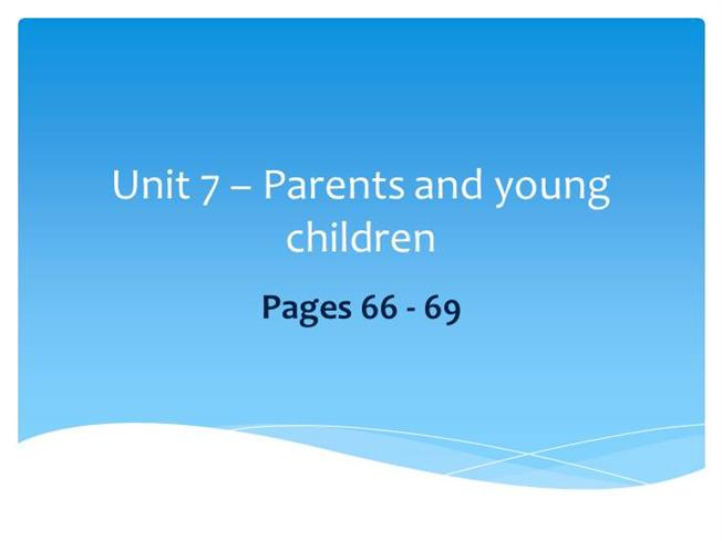 unit 7 support children and young Keith towler children's commissioner for wales, 2014 the right to learn  supporting children and young people at pupil referral units to reach their  potential 7.