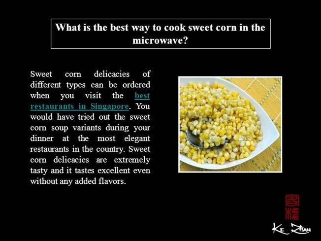 how to cook canned corn in the microwave