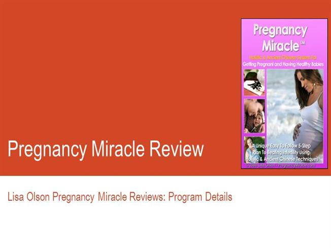 pregnancy miracle by lisa olson free download pdf