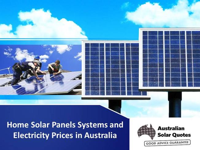 Home solar panels systems and electricity prices in for Panel homes prices
