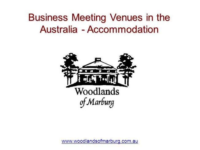 business meeting venues in the australia accommodation. Black Bedroom Furniture Sets. Home Design Ideas