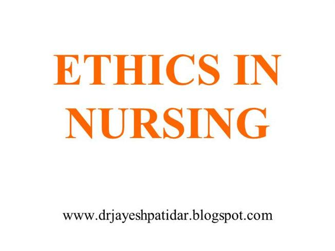 my nursing ethics essay I will strive to maintain and adhere to my personal nursing philosophy throughout my career code of ethics for nurses with interpretive statements.