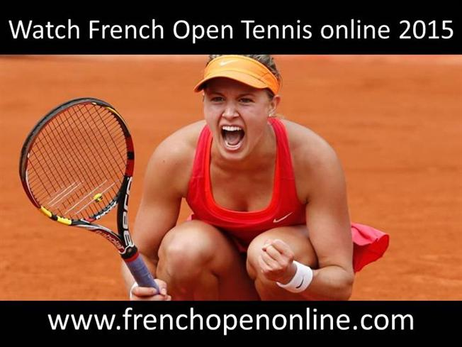 how to watch french open 2015 online