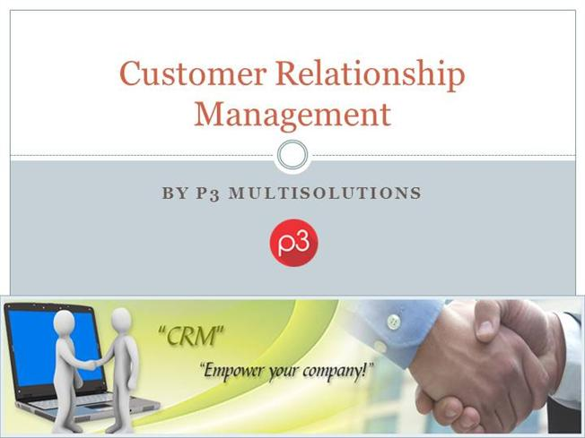 marketing and customer relationship management Customer relationship management an integrated package that includes a database as well as applications for marketing, sales and customer service and.