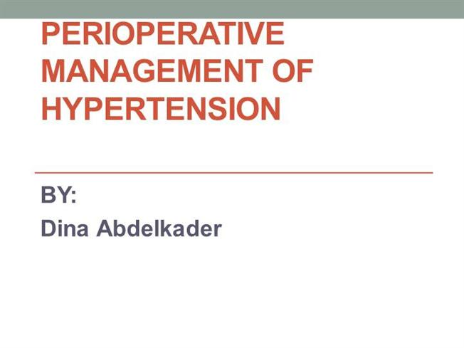 case control study on hypertension