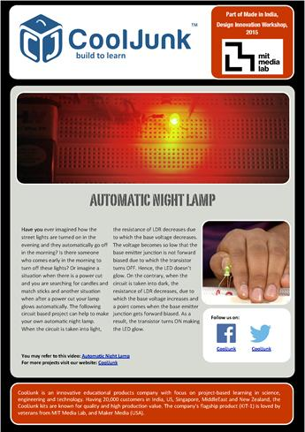 physics investigatory project on automatic night You can find this page online at: you may print and distribute up to 200 copies of this document annually, at no.