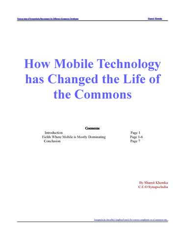 how technology has changed social life Debate centers on the effects of mobile technology and social media, online and  off is  enough time or effort to cultivating deeper real-life relationships  what  has changed is that communication technologies have made.