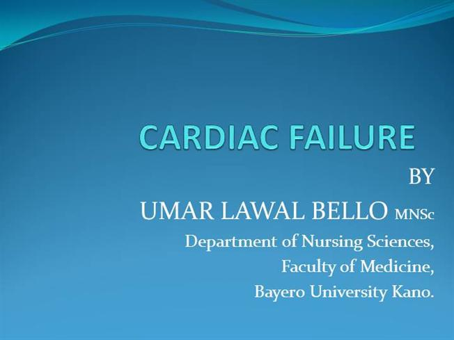 heart failure ppt