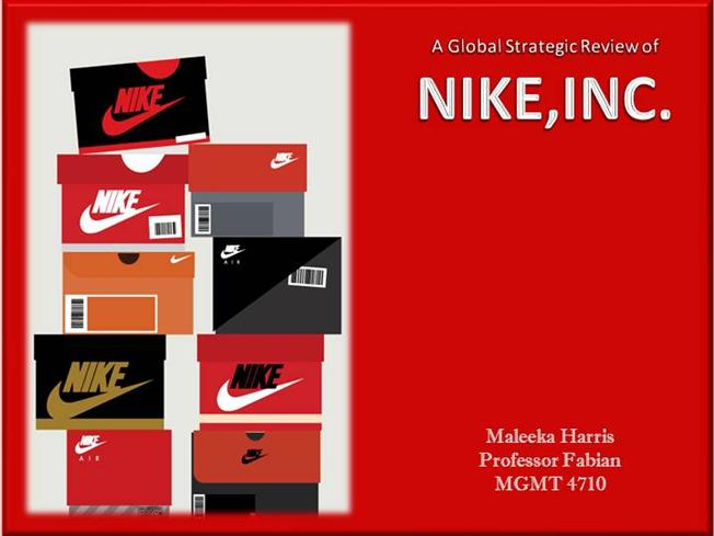 a profile overview of the operations and global strategy of nike inc Nike's company strategy is a clever one one that founder phil knight thought of while still in school at stanford instead of paying americans to put together nike's shoes, knight thought that it would be a better idea to take manufacturing plants overseas to places where labor is much cheaper than in the us, places like taiwan and south.