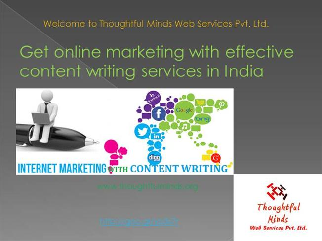 Best web content writing services india