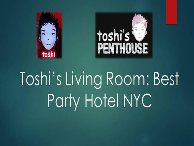 Toshi S Living Room  Broadway
