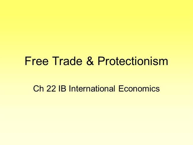 international trade and protectionism What is protectionism and could it benefit the us economy the largest economy on the planet is moving to a protectionist stance on international trade.
