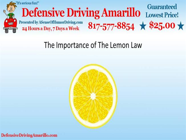 the significance of the lemon law A lemon is an investment that does not produce an anticipated return, or has no value topics what's new lemon laws are a form of consumer protection.