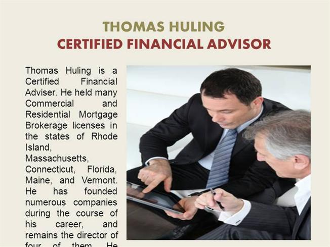 how to become a certified financial advisor