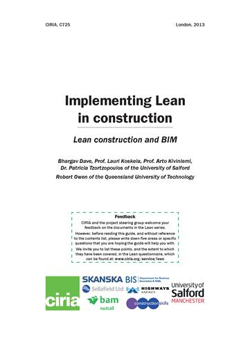 Implementing Lean In Construction Koskela Authorstream