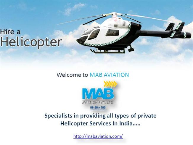 Private Helicopter Services In India AuthorSTREAM