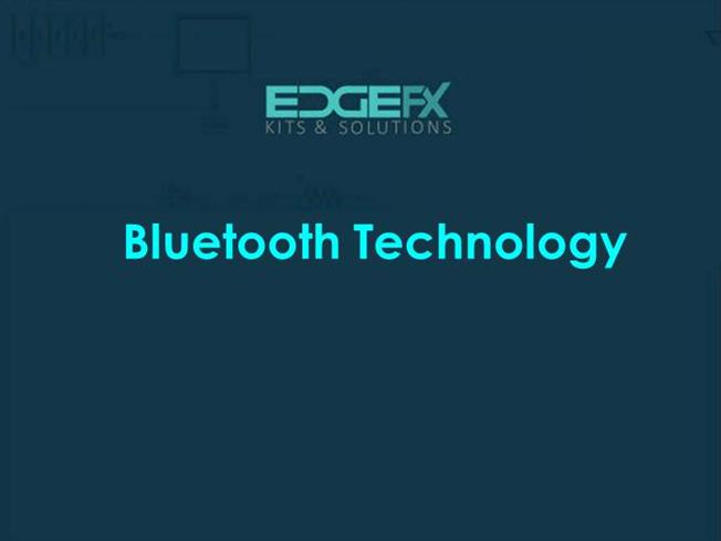 Bluetooth Technology Todays Advanced Wireless