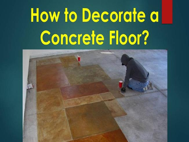 How does polishing concrete shine an old floor authorstream for How to make concrete floors shine