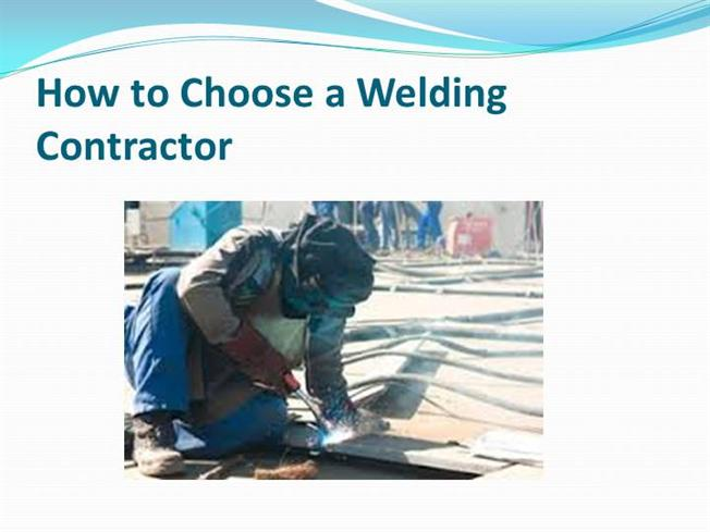 how to choose a welding contractor authorstream. Black Bedroom Furniture Sets. Home Design Ideas