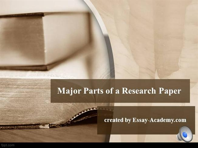 basic parts of the term paper For longer papers, containing a wealth of information, writing an appendix is a  useful way of  when you are writing the appendix, is that the information is non- essential  the appendix does not count towards the word count for your  research  this means you're free to copy, share and adapt any parts (or all) of  the text in.