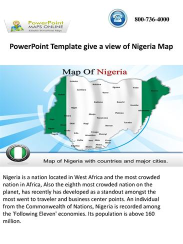Powerpoint template give a view of nigeria map authorstream toneelgroepblik Choice Image