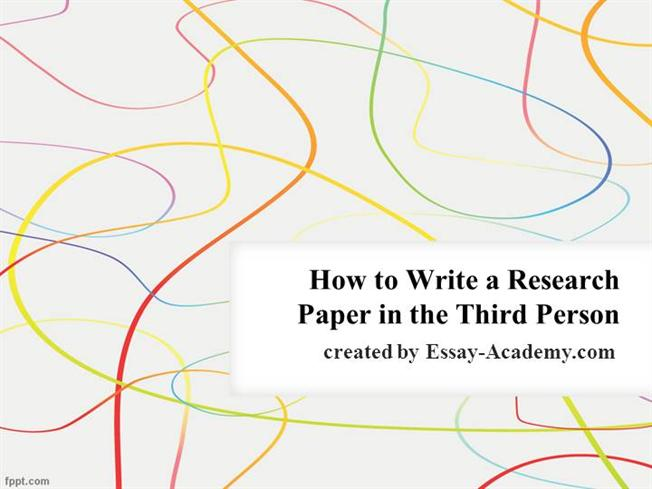 Third Person Classification Essay