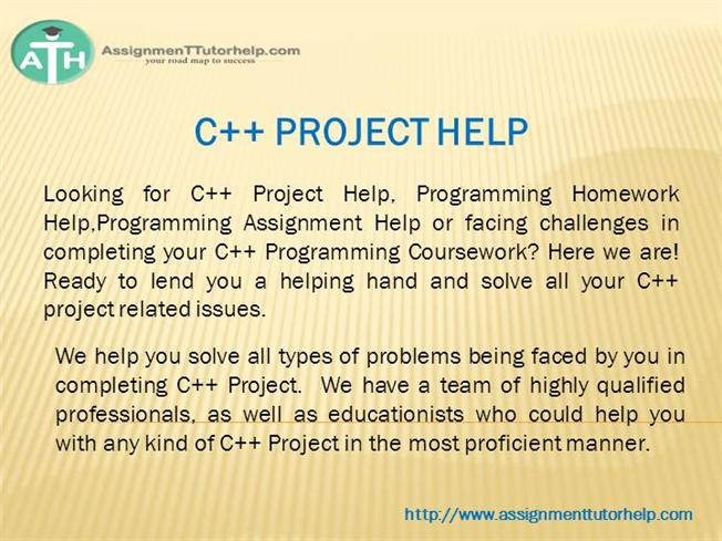 need help with c++ programming assignment Need any help for your programming homework catch this website to get facility of the perfect services of c and c++ programming assignment help.
